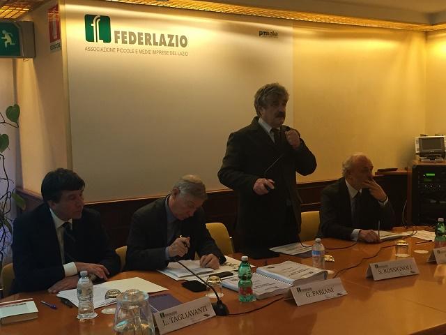 Federlazio, indagine congiunturale pmi: prime conferme di ripresa nel Lazio