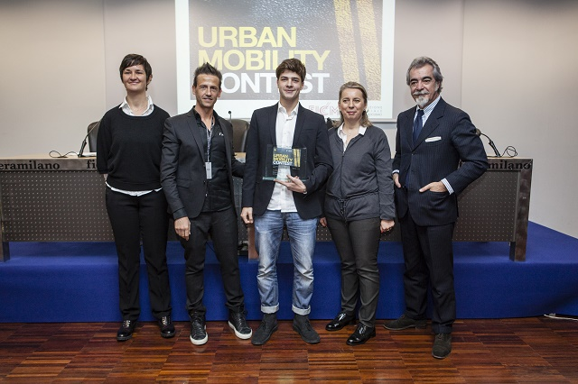La premiazione del primo classificato Alberto Piovesan
