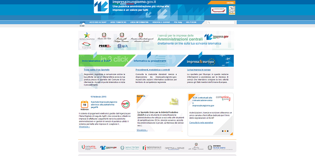 Sportello unico per le attività produttive: siglato il Protocollo Anci-Unioncamere per estendere l'utilizzo di www.impresainungiorno.gov.it
