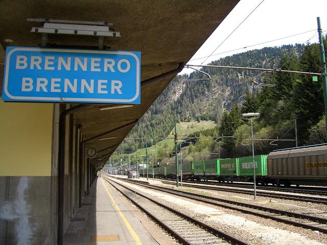 Un terzo delle merci in entrata e in uscita dall'Italia transita per il Brennero