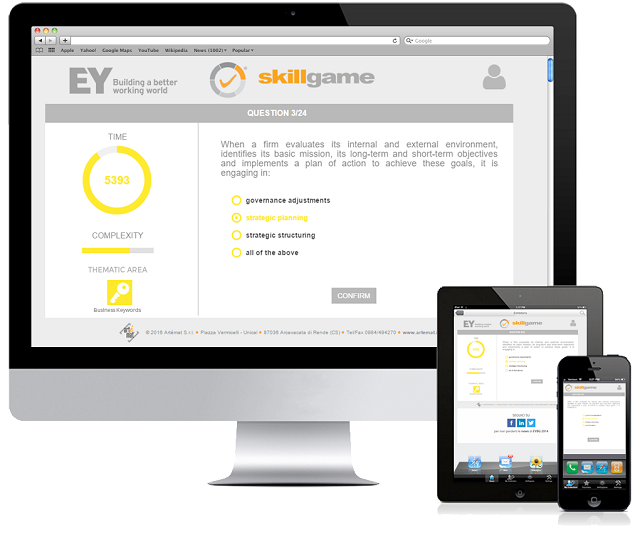 Start up, EY business game competition