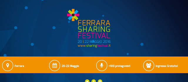 Nuove economie, comunità attive e cambiamento: arriva lo Sharing Festival!