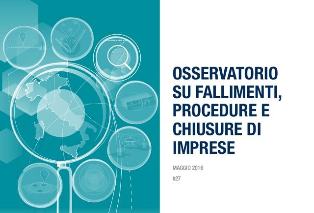Osservatorio Cerved sulle chiusure d'impresa: nel primo trimestre 2016 procedure in forte calo nelle costruzioni e nel Mezzogiorno