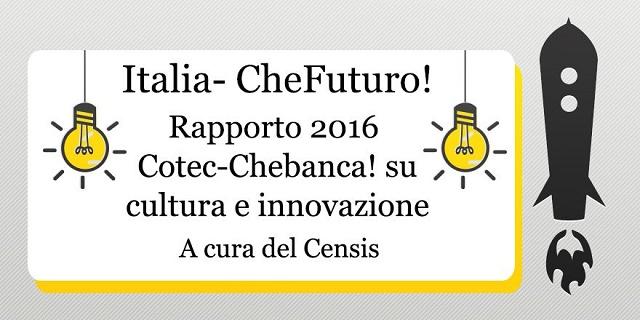 Innovazione: Censis, gli italiani vogliono fare un passo avanti
