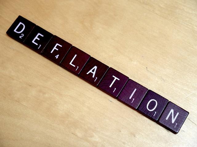 L'Italia al quinto mese di deflazione