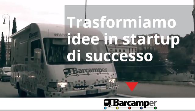 Parte Barcamper, fondo di accelerazione per startup