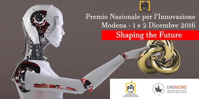 Modena, Premio Nazionale per l'Innovazione 2016