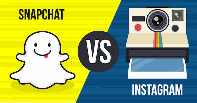 Snapchat vs Instagram: la sfida è aperta
