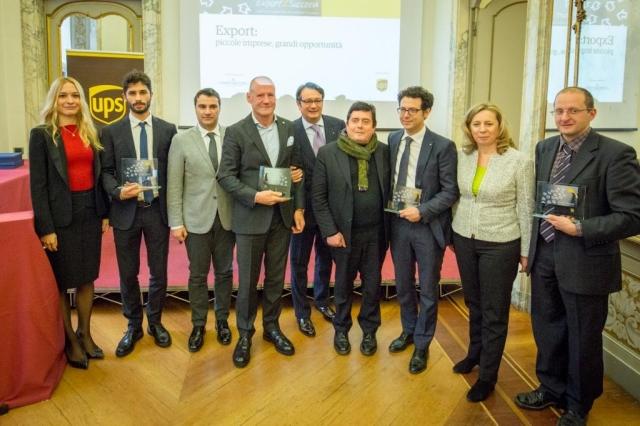 """Ups e """"L'imprenditore"""" premiano i migliori progetti di export delle pmi italiane"""