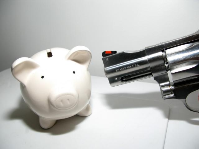 Banche: rapine in calo del 28,4% nei primi nove mesi del 2016