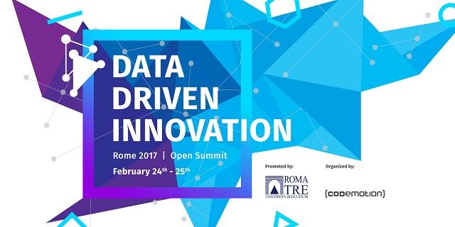Roma, a febbraio il Data Driven Innovation – Open Summit 2017