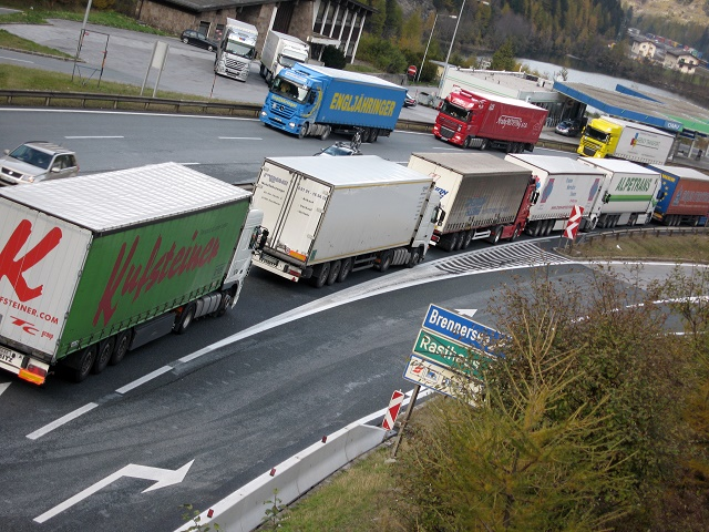 Brennero: 42 milioni di tonnellate di merci a rischio controlli