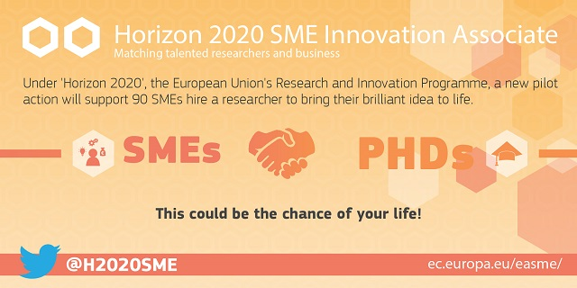 """SME innovation associate"", il programma europeo di incontro fra ricercatori ed imprese"