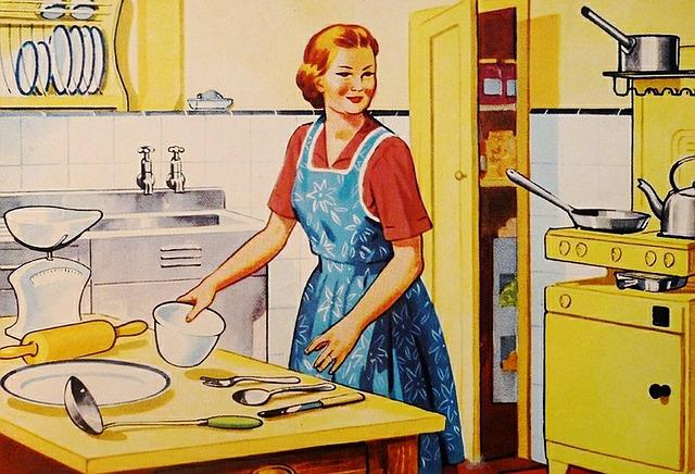 Diminuiscono le casalinghe in Italia