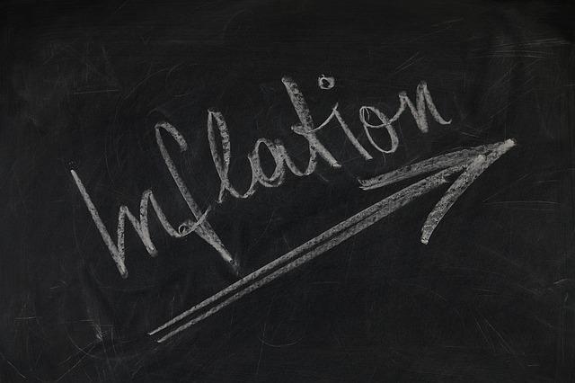 Lieve ripresa dell'inflazione