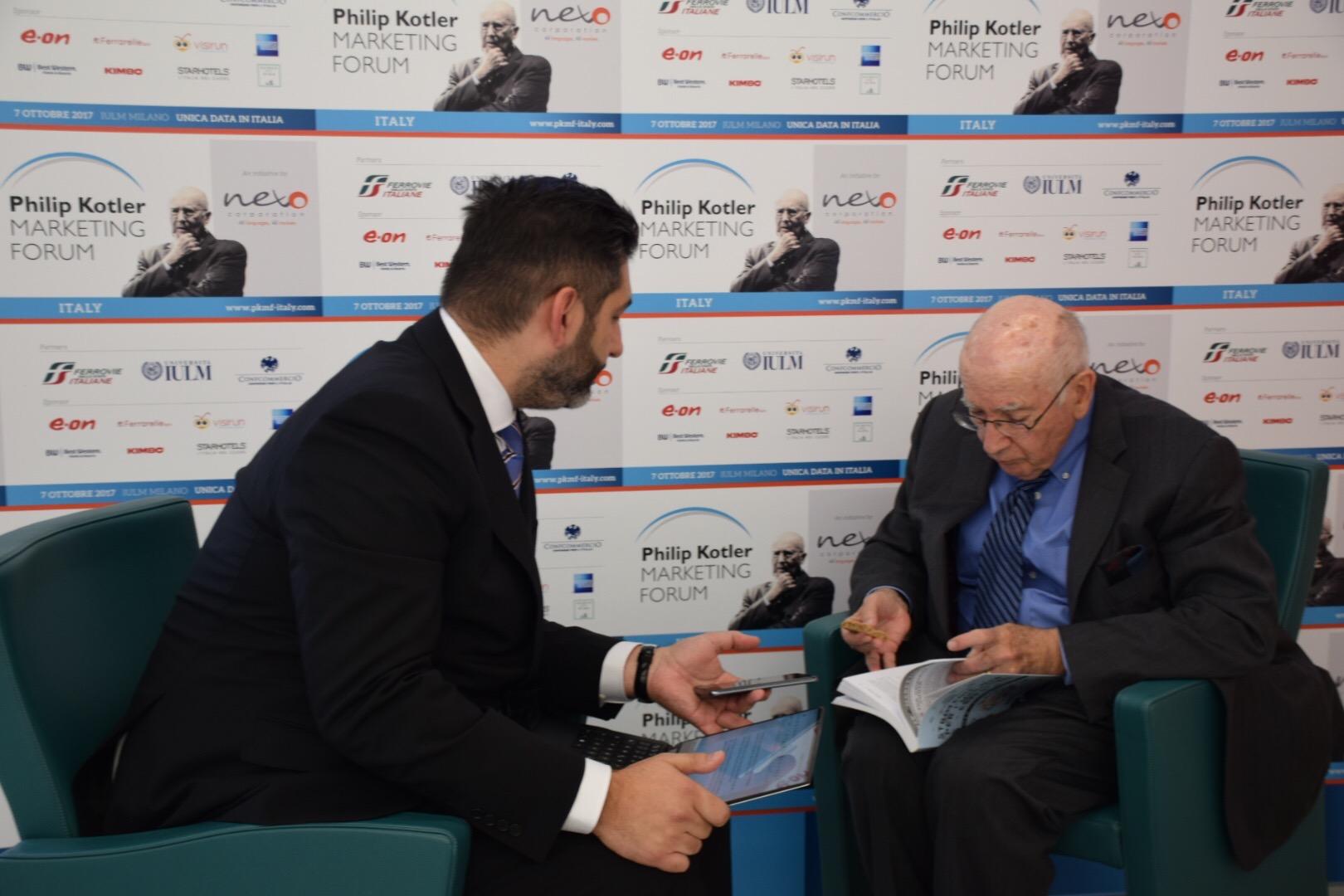 Export 4.0: Philip Kotler ne parla con Gabriele Carboni