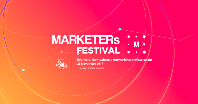 Va in scena la seconda edizione del MARKETERs Festival
