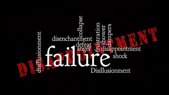 Record di fallimenti chiusi nel 2016