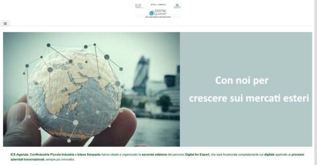 """Digital4export: una """"scuola"""" sul digitale per andare sui mercati esteri"""