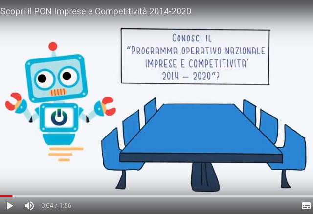 PON Imprese e Competitività 2014-2020. Scopri cos'è con una video infografica