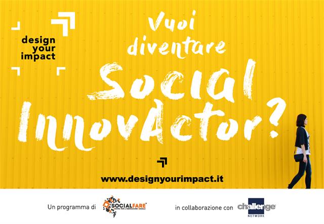 Design your impact, call per startup ad alto impatto sociale
