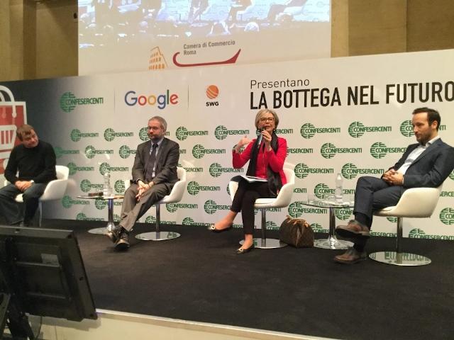 Confesercenti e SWG presentano 'La bottega nel futuro' insieme a Google Italia