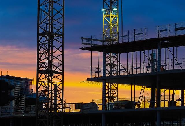 A gennaio moderata crescita per l'edilizia