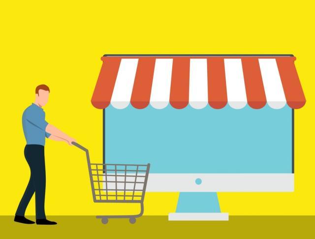 Senza i negozi si acquista meno online