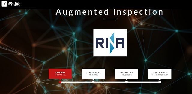 Industria 4.0: RINA e Digital Magics lanciano la call per startup e PMI Innovative Augmented Inspection