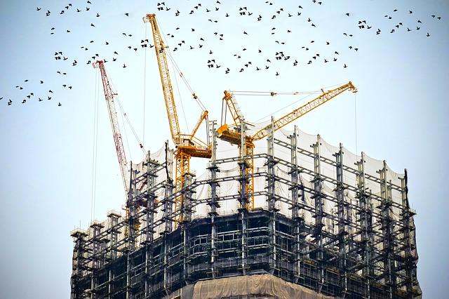 Produzione nelle costruzioni in lieve calo ad agosto