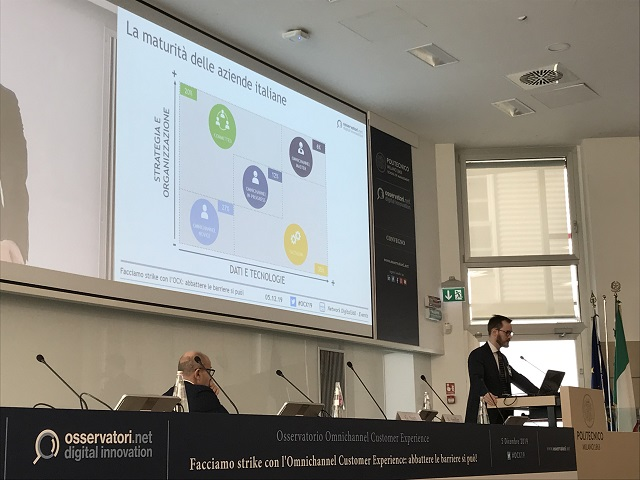 """L'approccio omnicanale in Italia: il 70% delle aziende dichiara un forte commitment del vertice aziendale, ma solo il 6% può dirsi realmente """"matura"""""""