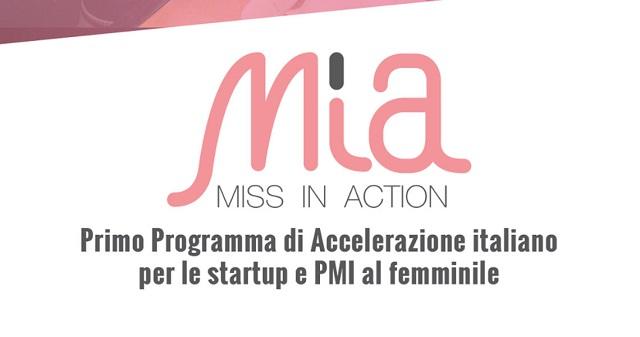 Bando Miss in Action: aperta call per startup, team e PMI al femminile