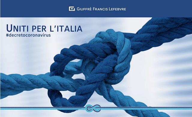 """Giuffrè Francis Lefebvre al fianco dei professionisti con l'iniziativa """"Uniti per l'Italia"""""""