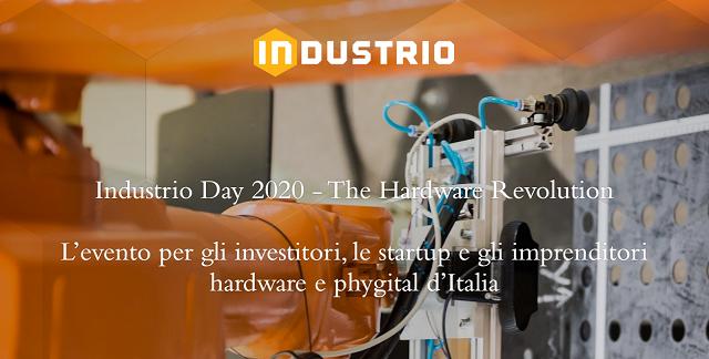 Industrio Day 2020, una call per imprese e startup