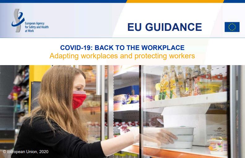 Coronavirus, la guida EU-OSHA per il ritorno al lavoro in sicurezza