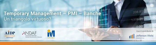 Temporary Management – PMI – banche: un triangolo virtuoso?