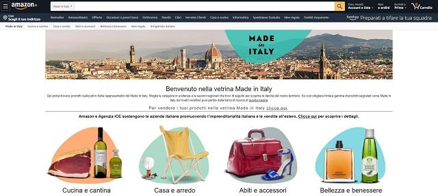 Cresce la vetrina di Amazon dedicata al Made in Italy: prorogata l'intesa con l'Agenzia ICE, presenti  oltre 2.000 piccole e medie imprese italiane e 1 milione di prodotti