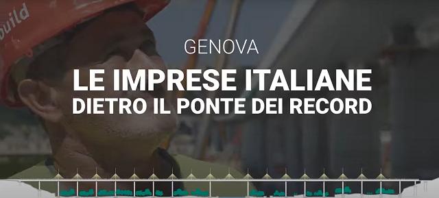 La filiera italiana dietro il ponte dei record costruito da Webuild: a Genova 330 imprese di piccole e medie dimensioni per forniture da 160 milioni di euro