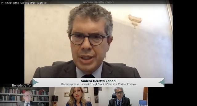 """""""Strategia e Piano Aziendale"""", presentato online il nuovo libro di Andrea Beretta Zanoni, docente partner ENDEVO, e Silvia Vernizzi"""